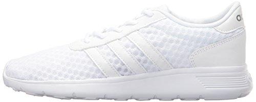 Sport Mat Adidas Lite Racer Femme W Blanc De Chaussures argent wqHpqP4X