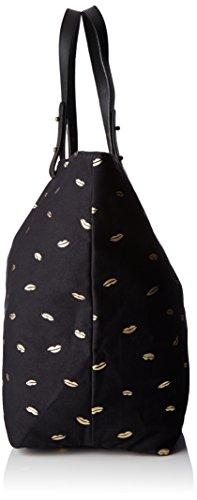 Petite Mendigote Clea Kiss - Borse a tracolla Donna, Noir (Black), 10x33x22 cm (W x H L)