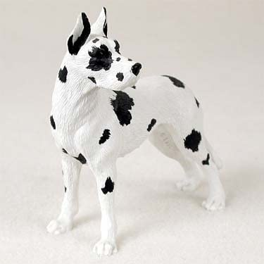 Conversation Concepts Great Dane Harlequin Standard Figurine Set of 6