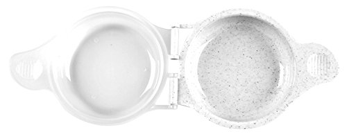 Good Living Microwave Egg Muffin Breakfast Sandwich Pan for Eggs in a Minute or Less, 1-pack