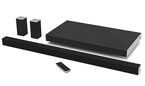 "VIZIO SB4551-D5 Smartcast 45"" 5.1 Slim Sound Bar System (Certified Refurbished) by VIZIO"