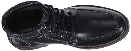 Boot Leather Black Curington High Chukka Men's CLARKS wSqOFvIF