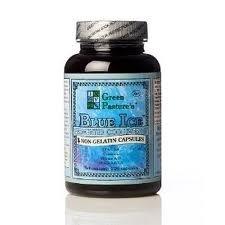 Green Pasture de Blue Ice fermenté huile de foie de morue - 120 Capsules