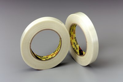 Scotch(R) Filament Tape 893 Clear, 18 mm x 55 m, 48 per case Bulk You are purchasing the Min order quantity which is 48 RLS by 3M