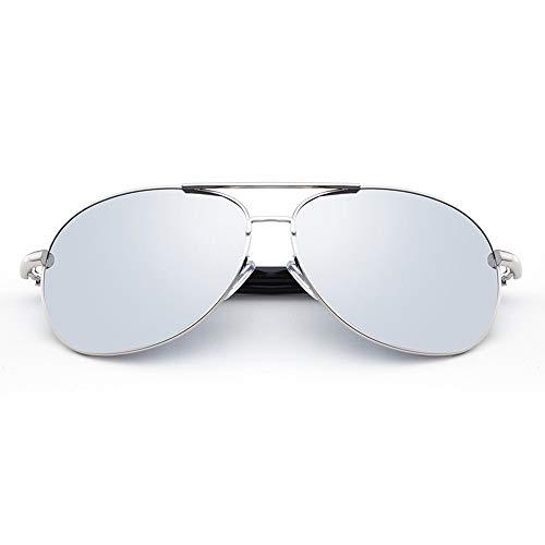 De Espejo Gafas Hombre Sol Gafas Conducir Conducir para para De Sol Hombre para Silver FKSW Gafas Sol Conducir Amarillo Gafas Espejo para De Polarizadas Gafas para wFIqUxn