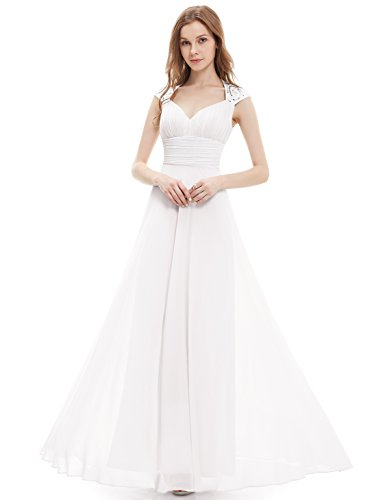 Pretty Chiffon V neck Ruched Evening product image