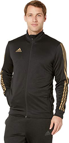 adidas Men's AFS Tiro Track Jacket Black/Gold Metallic XX-Large
