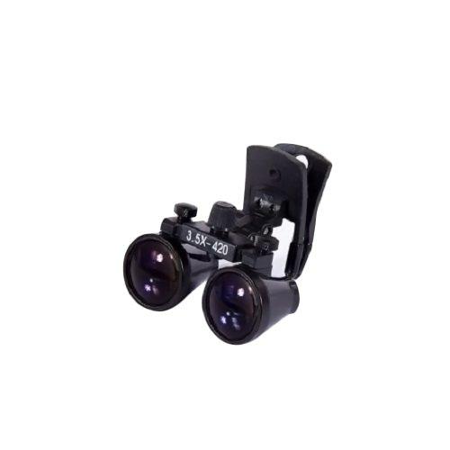 Zgood dentale chirurgico binoculari 3.5 x 420 MM clip occhialini dy-110 Lab Head Magnifier W/Clip