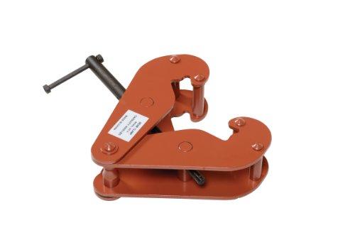 Vestil BC-6 Steel Beam Clamp, 6000 lbs Capacity, 3-1/2 to 12-1/4 Flange Width