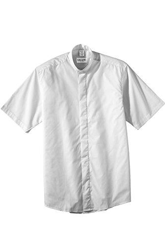 Straight Collar Broadcloth Shirt - 5