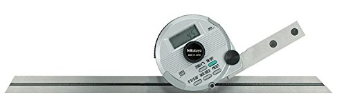 """Universal Digital Electric Protractor Stainless Steel 6/"""" 12/"""" Blade 0-360 Degree."""