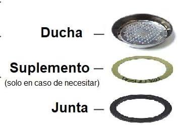 FUTURMAT Kit de reparación mantenimiento ducha junta y suplemento ...