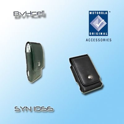 (Motorola Black Leather Case OEM Syn1066 for Motorla Razr V3 Razr V3i Razr V3c V3m V3r V3x)