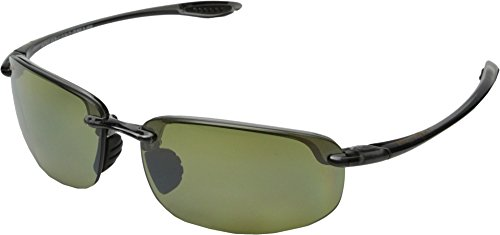 Maui Jim Unisex Hookipa Reader Universal Fit 1.50 Smoke Grey/Maui Ht One - Reading Maui Sunglasses Jim