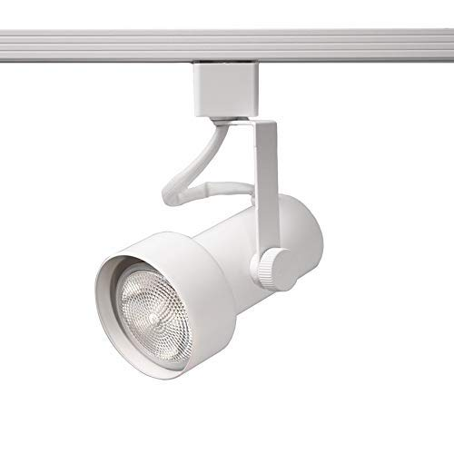 WAC Lighting LTK-725-WT L Series Line Voltage Track Head in White Finish (Renewed)