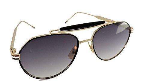 thom-browne-tb-015-gold-117-58-mm-sunglasses-black