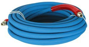100 ft 3/8'' Blue Non-Marking 4500psi Pressure Washer Hose by Legacy