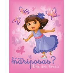 Dora The Explorer Fleece Butterfly Blanket