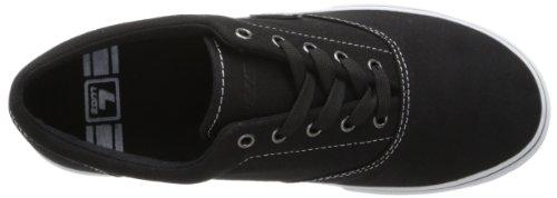 Lugz Mens Vet Nouvelle Mode Sneaker Noir / Blanc Toile
