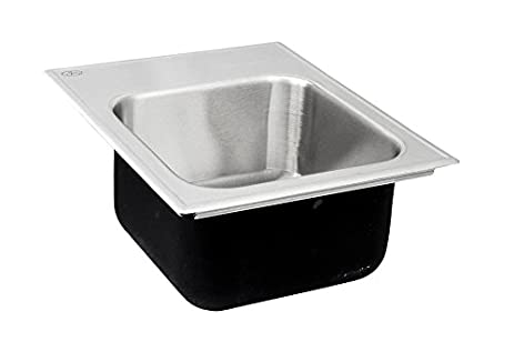 Just Manufacturing SLX1815A2 Just Mfg Single Bowl, Drop In, 18 Gauge,W/