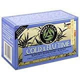 Triple Leaf Tea Triple Leaf Tea, Inc. Cold & Flu Time Tea (no Ma Huang) 20 BAG (Pack of 6) For Sale