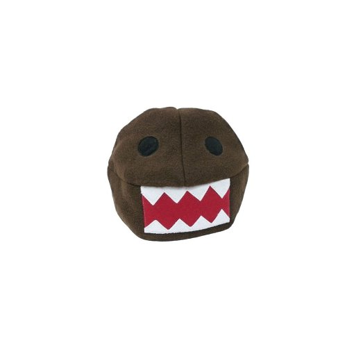 Domo-Kun Face Japanese Plush Beanie Hat