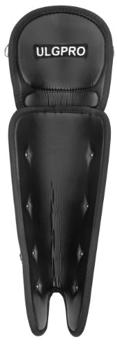 Rawlings ULGPRO Umpire Leg Guards (Black) by Rawlings
