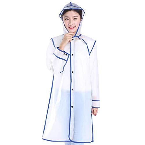 Impermeabile Impermeabile 1 Chic Giovane Cappuccio Raincoat Impermeabile Outdoor Outdoor Outdoor Yasminey Jacket Rain Waterproof Poncho Outdoor Fashion con wwx8gRS6q
