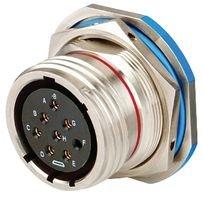 Jam Spec (Circular MIL Spec Connector RCPT JAM NUT 37 POS SHELL SIZE: 15)