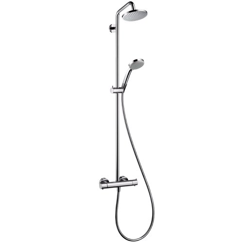 Hansgrohe 27169001 Chroma Green Showerpipe, Chrome by Hansgrohe