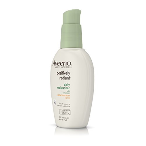 Aveeno Positively Radiant Daily Moisturizer With Sunscreen Broad Spectrum Spf 15, 4 Oz by Aveeno (Image #6)