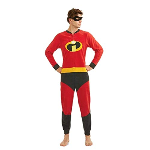 The Incredibles Onesie (Disney Pixar The Incredibles 2 Holiday Family Sleep Matching Onesie Pajama with Mask (M)