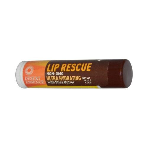 Desert-Essence-Lip-Rescue-With-Shea-Butter-015-Oz-Case-Of-24