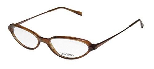 Vera Wang V47 Womens/Ladies Cat Eye Full-rim Eyeglasses/Eyeglass Frame (50-15-130, - Face Shape Frames Eye Cat