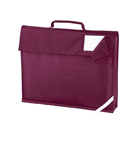 New para cama infantil Quadra estampado de para la escuela para niños bolsa de viaje bolso bandolera correa para el hombro granate