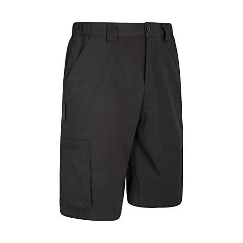 Mountain Warehouse Trek Emigre los Cortocircuitos de Mens - Cortocircuitos Ligeros del Verano, Pantalones Durables del Cortocircuito…