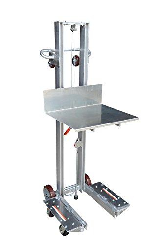 Vestil-ALLW-2420-4SFL-Aluminum-Lite-Load-Lift-Winch-6-14-59-Height-Range-20-Length-x-24-Width-Platform-400-lbs-Capacity