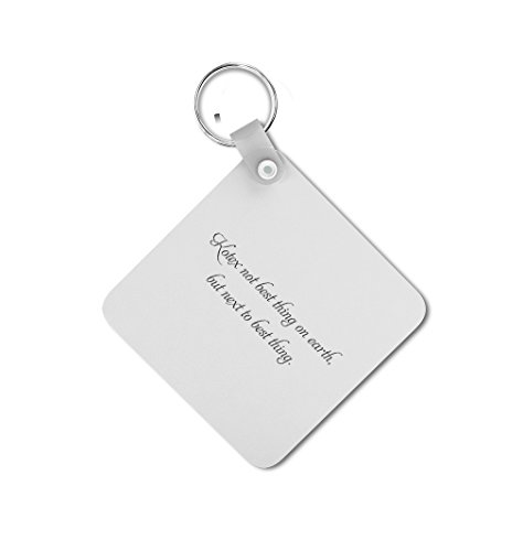 kotex-is-next-to-best-thing-double-sided-square-metal-key-chain