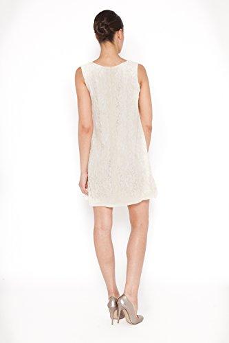 Tantra, Lace dress - Vestido para mujer Marfil (Crudo)