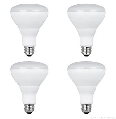 Feit Electric 13-Watt (65W Equivalent) Br30 Medium Base (E-26) Soft White Dimmable LED Flood Light Bulb-(4 Pack)