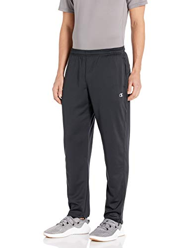 Champion Men's Double Dry Select Training Pant, Black, M