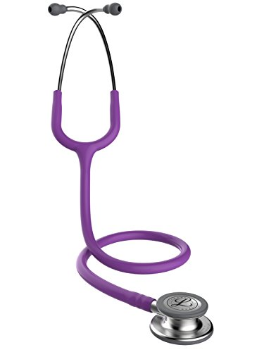 Tube Lavender - 3M Littmann Classic III Stethoscope, Machined Stainless Steel Chestpiece, Lavender Tube, 27, inch, 5832