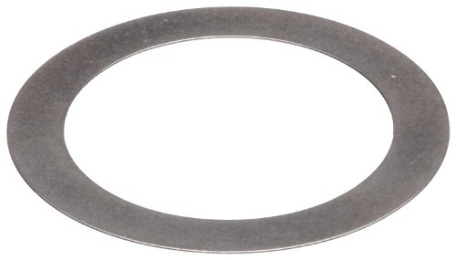 1075 Spring Steel Round Shim, Unpolished (Mill) Finish, H08 Temper, AMS 5120H/QQ-S-700, 0.032