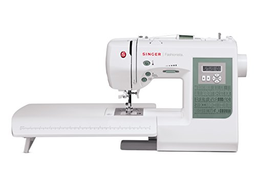 SINGER Sewing S800 Fashionista Computerized 100-Stitch Electric Sewing Machine with Extension Table (Table Fashionista)