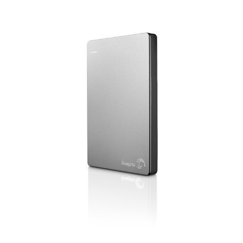 Seagate Backup Plus Slim 1TB Portable External Hard Drive for Mac with Mobile Device Backup USB 3.0 (Renewed)