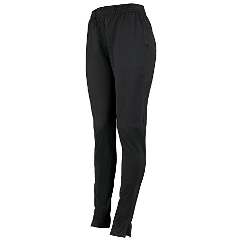 (Augusta Sportswear Women's Tapered Leg Pant, Black,)