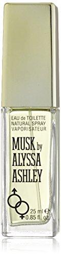 Alyssa Ashley Musk Eau de Toilette Spray, 0.85 Ounce (Edp Woman Provocative)