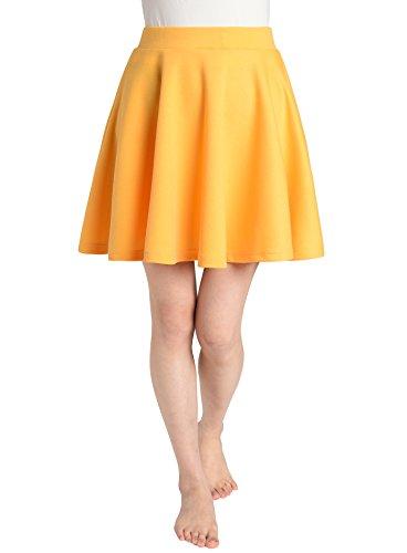 JustinCostume Women's Skater Skirt Flared Circle Skirt XL ()