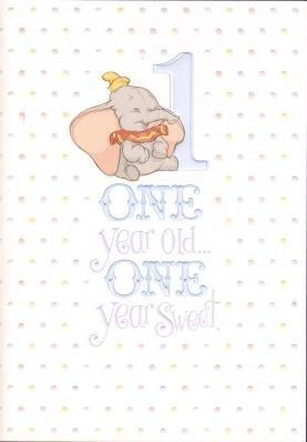 Disney Birthday Card Geburtstagskarte Fur Sohn Zum 1 Geburtstag