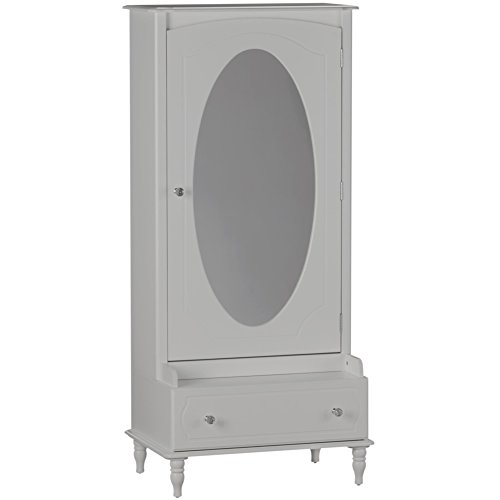 Little Seeds Rowan Valley Laren Armoire with Mirror, Gray by Little Seeds